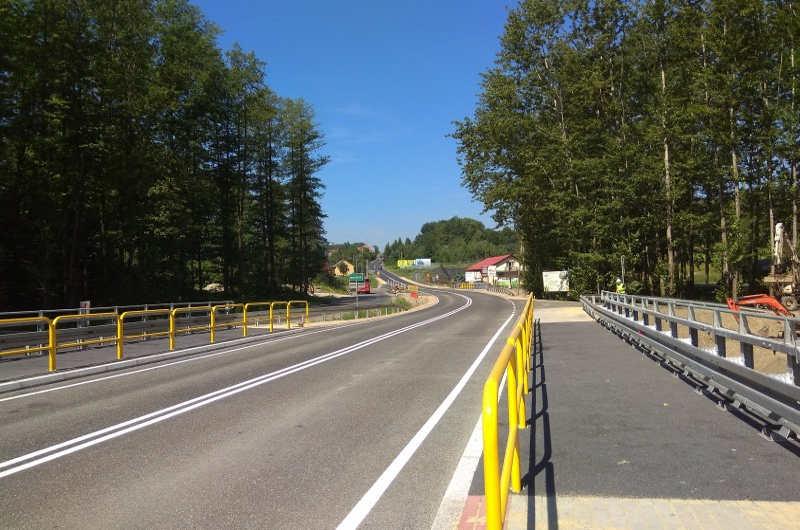 Małopolskie: Nowe mosty na DK52 w Brodach już gotowe
