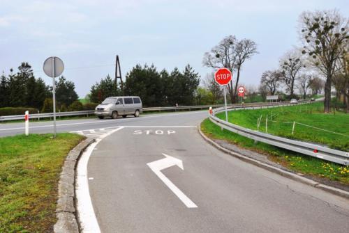 Opolskie: Zamknięta DK45 od Reńskiej Wsi do Poboroszowa