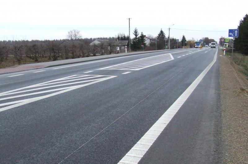 W 2017 roku wyremontowano 66 km dróg krajowych w woj. świętokrzyskim