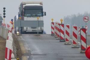 Utrudnienia na DK8 w okolicach obwodnicy Ostrowi Mazowieckiej