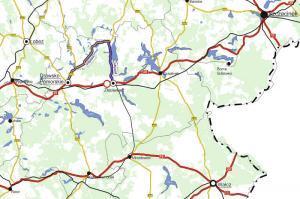 Zamknięta DK20 w Złocieńcu. Wyznaczono 16 km objazd