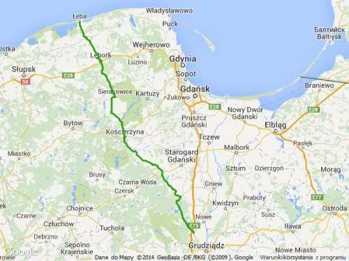 DW 214 mapa