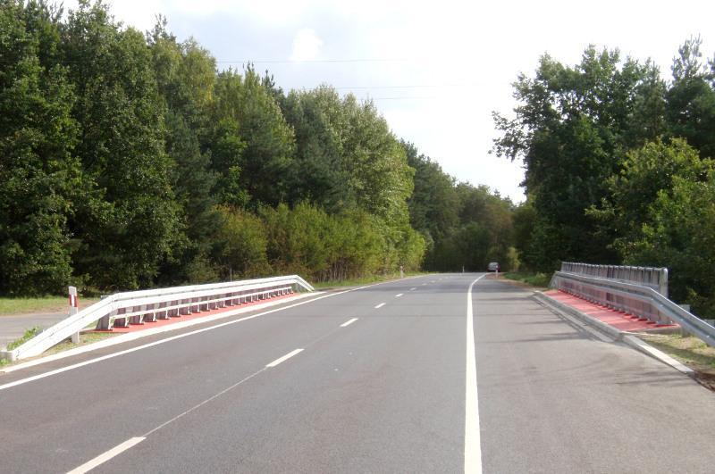 Przebudowany odcinek Berlinki DW142