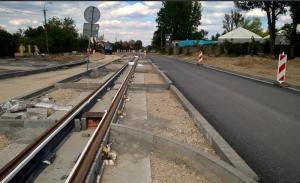 Postępują prace na DW705 w Sochaczewie