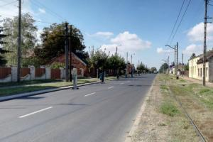 Remont na DW710 w Konstantynowie