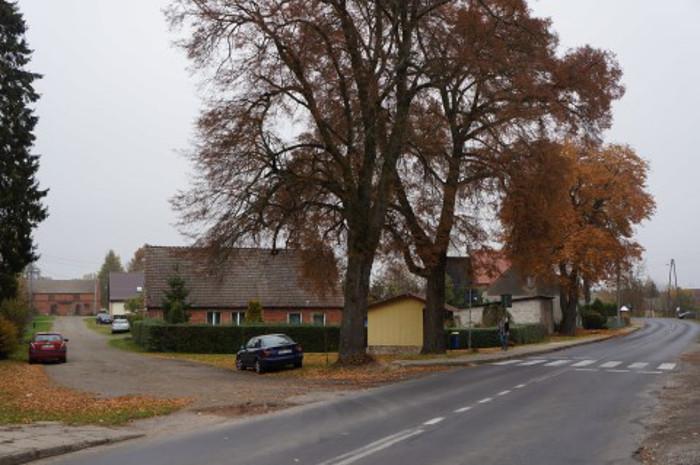 Obecny stan drogi wojewódzkiej nr 109 na odcinku Trzebiatów - Płoty