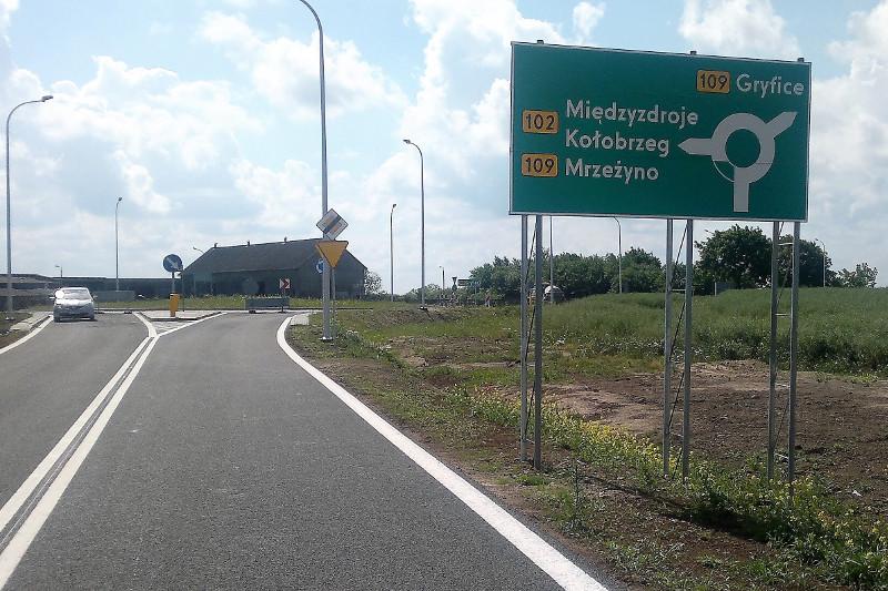 Zachodniopomorskie: W 2018 r. rozpocznie się przebudowa DW109 Trzebiatów – Płoty