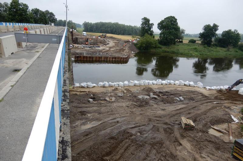 Most przez Wartę w Miedzychodzie