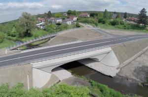 Wielkopolskie: Budowa mostu na DW188 w Skórce zakończona