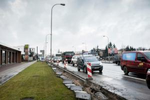 Przez miesiąc zamknięta wylotówka z Radzymina pod Warszawą