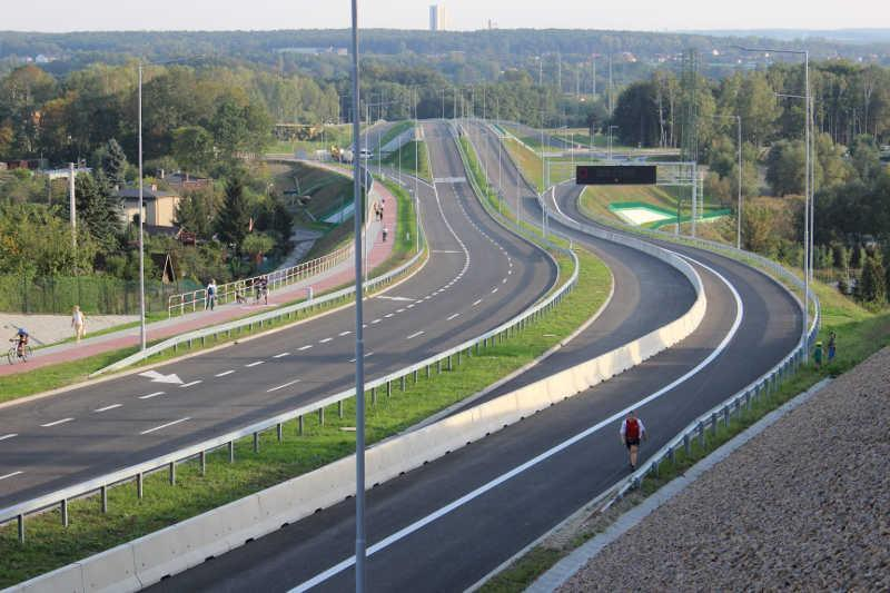 Nowy odcinek trasy NS w Rudzie Śląskiej