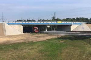 Bez utrudnień w Polkowicach - wiadukt nad DK3 gotowy