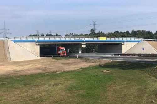 Nowy wiadukt na DK3 w Polkowicach