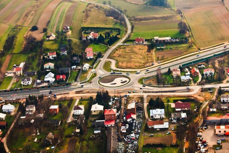 Droga krajowa DK 94: Niemcy - Legnica - Wrocław - Opole - Sosnowiec - Kraków - Tarnów - Rzeszów - Ukraina
