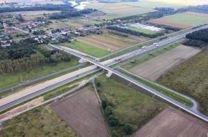 Budowa drogi ekspresowej S8 Oleśnica - Syców. Zdjęcia Lotnicze.