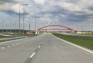 Pierwsza stacja paliw na odcinku S8 Łódź - Wieluń