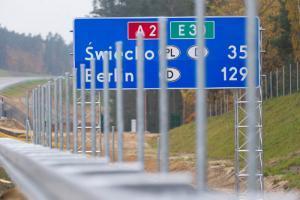 Autostrada A2 Świecko - Nowy Tomyśl połaczyła nas z zachodem Europy