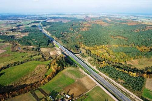 Utrudnienia na autostradzie A1: Trwa remont wiaduktu koło Torunia