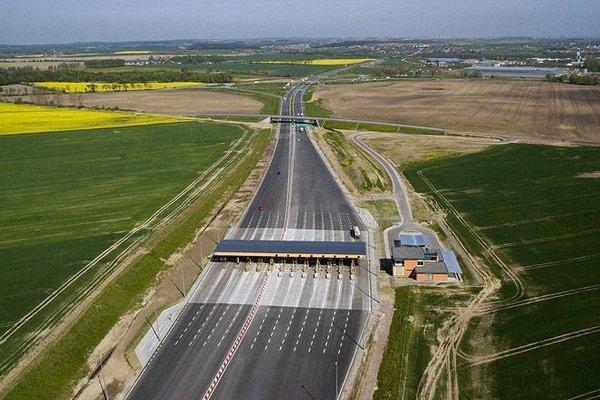 Punkt poboru opłat na autostradzie A1 Gdańsk - Toruń