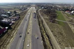 Autostrada A4 Rzeszów - Jarosław w budowie