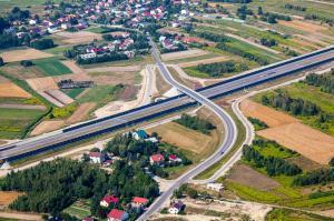 Autostradowa obwodnica Rzeszowa - odcinek A4 węzeł Rzeszów Północ - w. Rzeszów Wschód