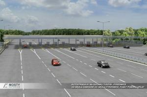 Autostrada A1 odcinek Tuszyn - Pyrzowice - wizualizacje