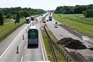 Remont autostrady A4 - czerwiec 2015