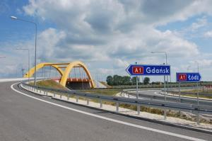 Autostrada A1 - węzeł Kutno