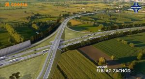 Wizualizacje drogi S7 pomiędzy Nowym Dworem Gdańskim i Elblągiem