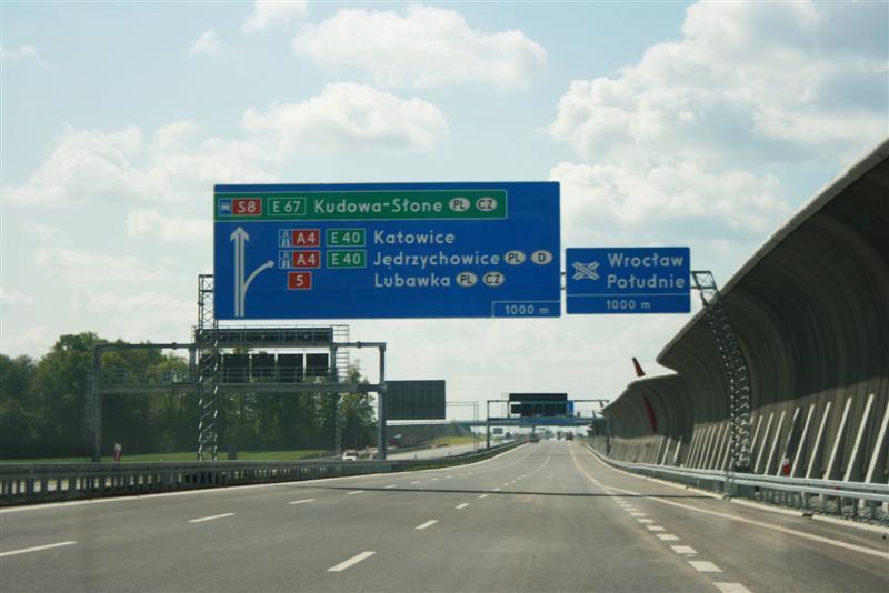 Utrudnienia na A8 Autostradowej Obwodnicy Wrocławia