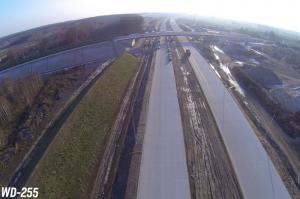Autostrada A1 ze Strykowa do Tuszyna, obwodnica Łodzi. Wizyta na budowie odcinka 1 - listopad 2015