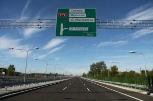 Południowa Obwodnica Warszawy w ciągu drogi ekspresowej S2 Lotnisko - Puławska