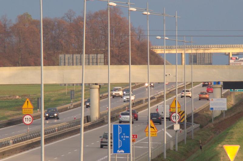 Korek na autostradzie A4 pod Wrocławiem i na Opolszczyźnie