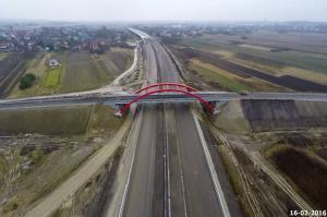Z wizytą na budowie autostrady A4 Rzeszów - Jarosław (luty 2016r.)