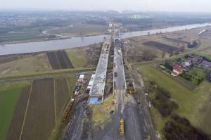 Na budowie drogi ekspresowej S7 Igołomska - Botewa. Rośnie obwodnica Krakowa