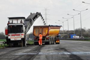 I etap remontu opolskiej autostrady A4 za nami. Węzeł Brzeg wkrótce bez utrudnień