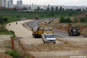 Obwodnica Południowa Radomia - relacja z budowy (maj 2013)