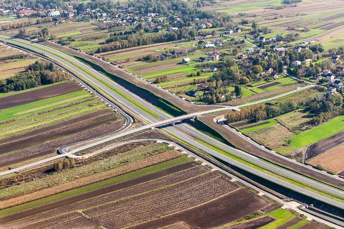 Będzie węzeł Niepołomice w ciągu autostrady A4