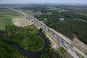 Oddany odcinek S8 Sieradz - Łask połaczył Wrocław z Łodzią