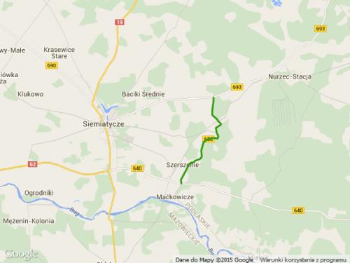 droga wojewódzka 658