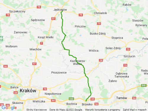 droga wojewódzka 768