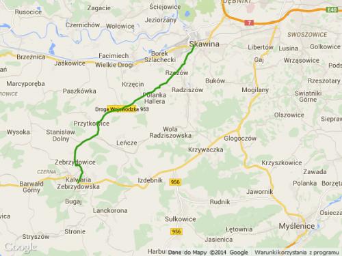 droga wojewódzka 953