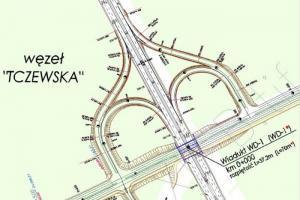 Węzeł Tczewska ułatwi wjazd na A6
