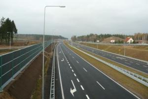 Dwie jezdnie S7 z Olsztynka do Nidzicy
