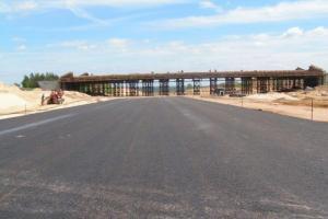 Autostrada A1 do Gorzyczek bez mostu
