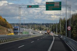 Węzeł Gdańsk Lipce na Południowej Obwodnicy Gdanska S7