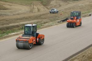 Trwa budowa drogi ekspresowej S7 - obwodnica Kielc