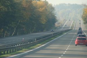 Zakazy wyprzedzania dla ciężarowych na autostradzie A4