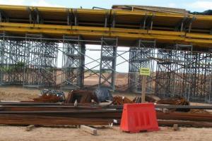 DK 90: Pierwsze wanty na moście przez Wisłę w Kwidzynie