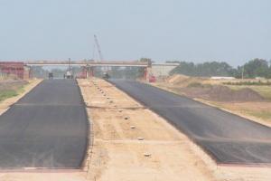 Węzeł Turzno na autostradzie A1 na koniec marca